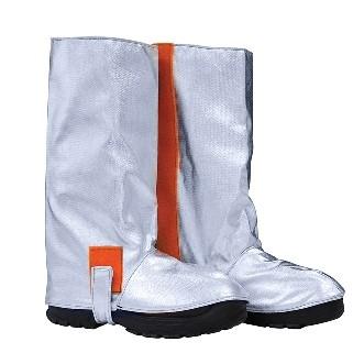 Approach-Stiefel, Klettverschluss auf der Innenseite, Knopf und Klettverschluss für die Sohle, zertifiziert nach EN 11612:2009