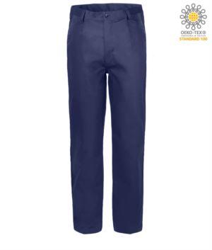 Arbeitshose 100% Baumwolle Massawa, Farbe blau