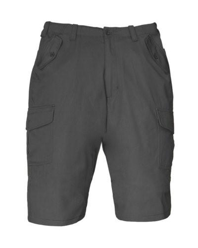 Bermuda Shorts mit mehreren Taschen. Farbe grau