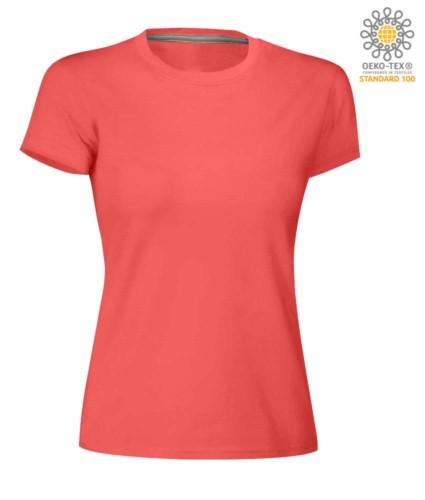 Damen Rundhalsausschnitt T-Shirt