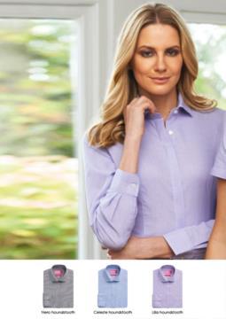 Hemd aus Baumwolle und Polyester, halbfester Sitz. Polyester und Baumwollgewebe. Ideal fuer Empfangspersonal, Hostessen, Hoteliers.