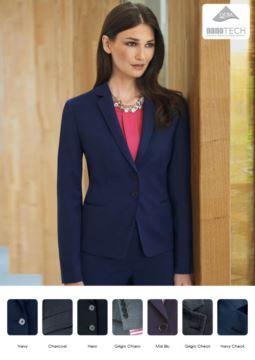 Damen Slim Fit Jacke | Elegante Arbeitsuniform