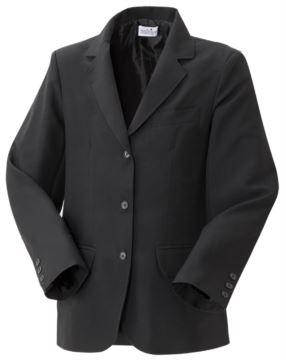 Herren gefuetterte Jacke, Frontverschluss mit drei Knoepfen, zwei Fronttaschen, Farbe schwarz
