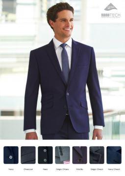 Elegante Uniformjacke mit Zweiknopfverschluss, Polyester- und Wollstoff, schmutzabweisend behandelt. Nur fuer den Grosshandel. Fordern Sie ein kostenloses Angebot an.