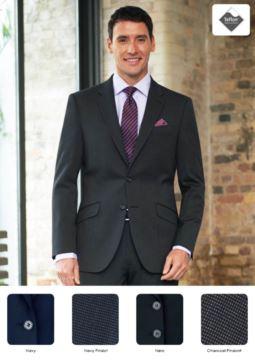 Mantel aus Wolle, Kaschemir und Polyamid, marineblau, grau, schwarz. Ideal für Portier-, Hotel- und Rezeptionistenuniformen. Fordern Sie ein kostenloses Angebot an.