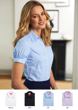 Elegantes Hemd fuer die Arbeitskleidung (z.B.: Empfangsdame, Hostess, Hotelier). Grosshandel. Fordern Sie ein kostenloses Angebot an.