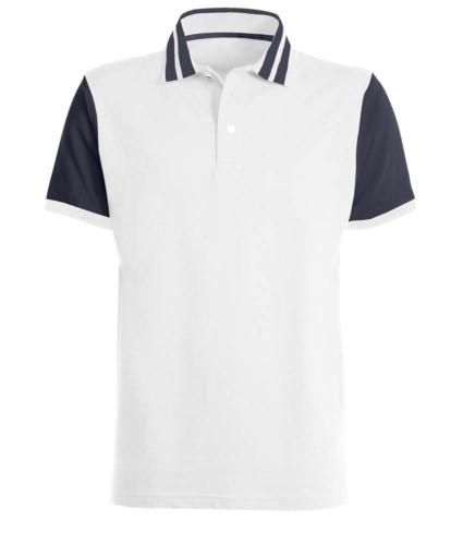 Kurzarm jersey polo