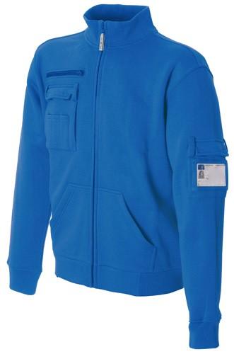 Koenigsblau Multi Pocket langer Reißverschluss Arbeit Sweatshirt