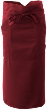 Kochschürze mit Polyester, burgunderrot  Farbe