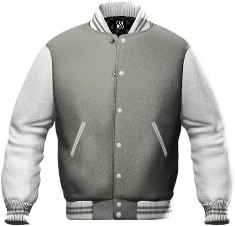 Grau und Weiss zweifarbige Werbearbeit Sweatshirt